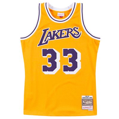 Kareem Abdul-Jabbar M&N NBA Swingman Jersey | LA Lakers 1984-85