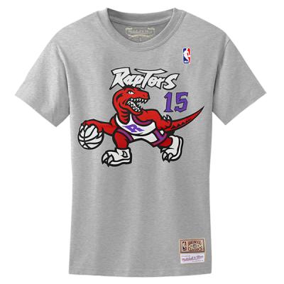 M&N NBA Toronto Raptors Nome & Numero Hardwood Classics Edition Tee | Vince Carter