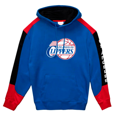 Mitchell and Ness Fusion Fleece Hoody | Los Angeles Clippers