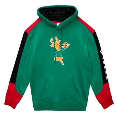 Mitchell and Ness Fusion Fleece Hoody | Milwaukee Bucks