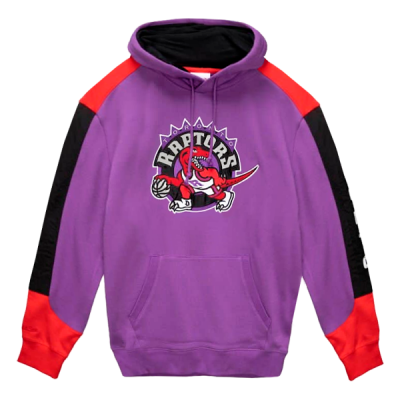 Mitchell and Ness Fusion Fleece Hoody   Toronto Raptors
