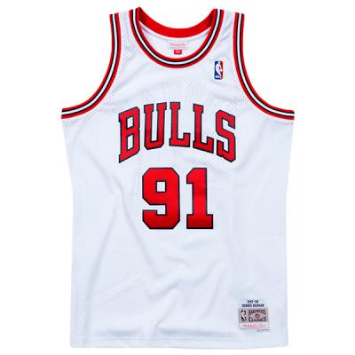 Dennis Rodman Mitchell & Ness Soul Swingman Jersey | Chicago Bulls 1997-98