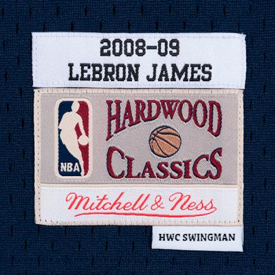 Mitchell and Ness NBA Lebron James Swingman BlueJersey | Cleveland Cavaliers 2008-09