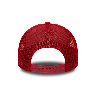 New Era Chicago Bulls Multi Camo Hot Red 9FORTY A-Frame Trucker Cap