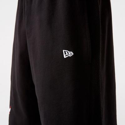 New Era NBA Team Logo Black Shorts | Chicago Bulls