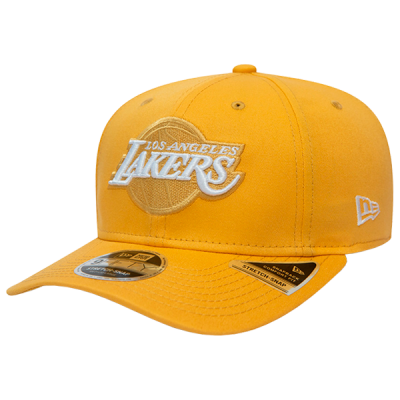 New Era League Essential Caramac 9FIFTY Stretch Snap Cap   LA Lakers