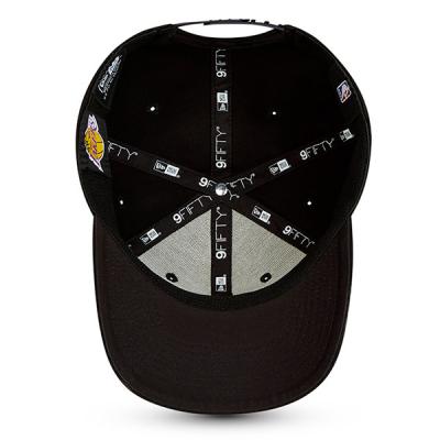 New Era NBA Neon Pop Outline 9FIFTY Stretch Snap Cap | LA Lakers