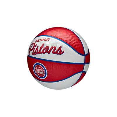 Wilson NBA Team Retro Mini Ball | Detroit Pistons
