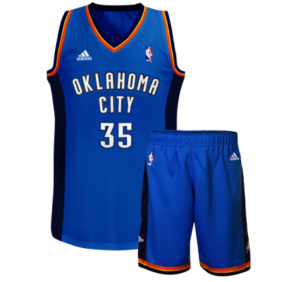 Youth NBA adidas Replica Oklahoma City Thunder Kevin Durant
