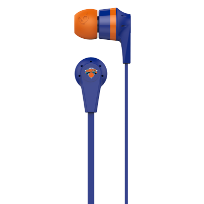 New York Knicks Ink'd 2 Skullcandy Earphones