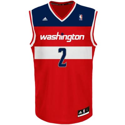 adidas NBA John Wall Washington Wizards Jersey