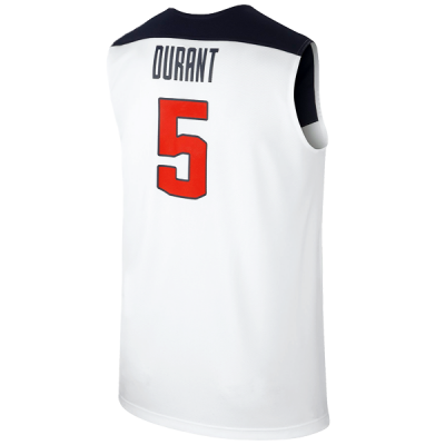 Kevin Durant USA 2014 White Jersey