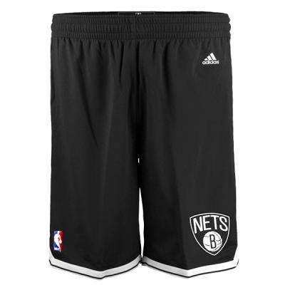adidas NBA Brooklyn Nets Black Shorts