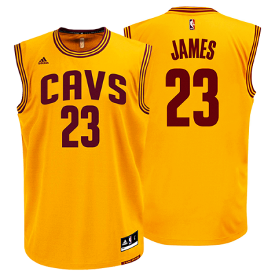 save off e2b85 1ca13 James Cavs Jersey YL