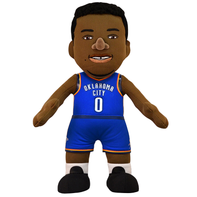 Boneco de peluche Russell Westbrook Oklahoma City Thunder