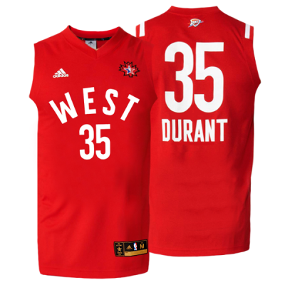 sports shoes b04e0 bcf44 Durant All-Star '16 Jersey