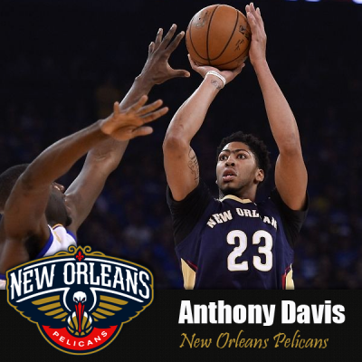adidas NBA Anthony Davis New Orleans Pelicans