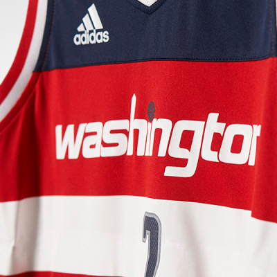 Youth NBA adidas Replica Washington Wizards John Wall