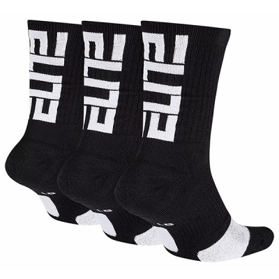 Nike Elite Crew Basketball Socks (3 Pairs)
