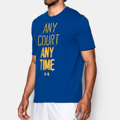 Any Court Any Time Under Armour Shirt
