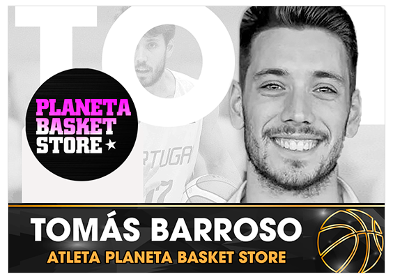 Tomás Barroso | Atleta Planeta Basket Store