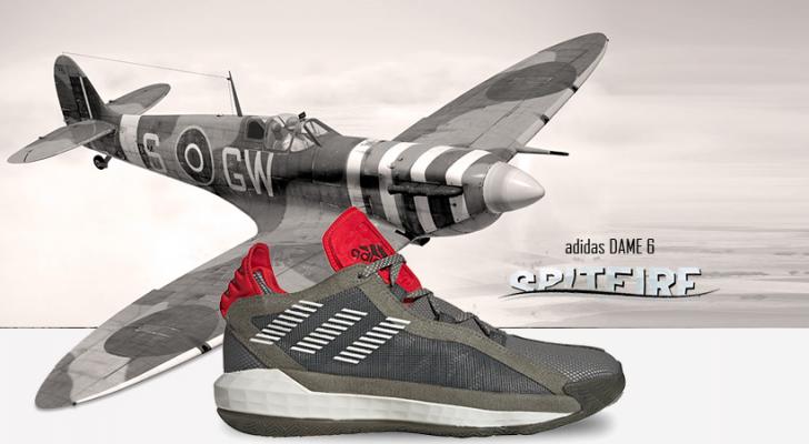 adidas Dame 6 - Spitfire